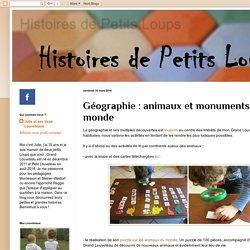Géographie : animaux et monuments du monde