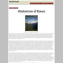 Histoires d'Eaux, musiques de l'eau - Philippe Vilain