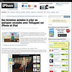 Des histoires animées à créer en quelques secondes avec Tellagami sur iPhone et iPad - iPhone 5s, 5c
