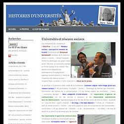 Universités et réseaux sociaux