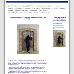 """""""Histoires de portes et de fenêtres de Duchamp à nos jours"""" / Wetterwald - Elisabeth Wetterwald"""