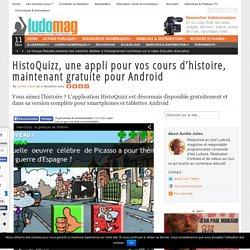 HistoQuizz, une appli pour vos cours d'histoire, maintenant gratuite pour Android