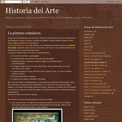 Historia del Arte: La pintura románica.