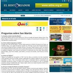 Preguntas sobre San Martín