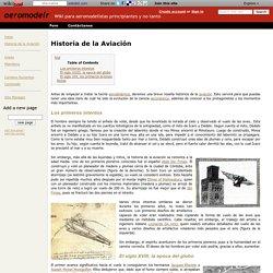 Historia de la Aviación - aeromodelr