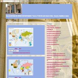 Historia 1º Bachillerato: 2011-01-30