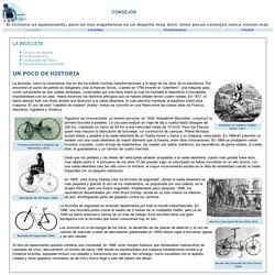 Historia de la bicicleta. Consejos