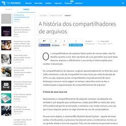 A história dos compartilhadores de arquivos - Tecmundo