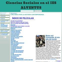 CINE PARA VIVIR LA HISTORIA CONTEMPORÁNEA - Ciencias Sociales en el IES ALVENTUS