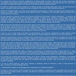 Historia del cuento. Por MARIA VICTORIA RASERO LINDE.
