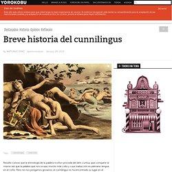 Breve historia del cunnilingus