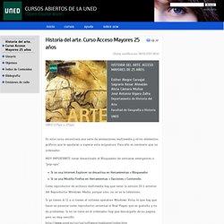 Historia del arte. Curso Acceso Mayores 25 años