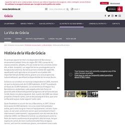 Història de la Vila de Gràcia