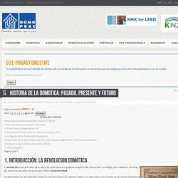 Historia de la domotica: pasado, presente y futuro - DomoPrac - Domotica practica paso a paso