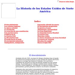 La Historia de los Estados Unidos de Norte América