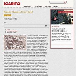 Historia del fútbol Icarito