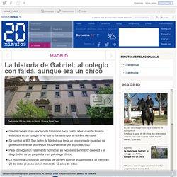 La historia de Gabriel: al colegio con falda, aunque era un chico