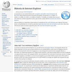 Historia de Internet Explorer
