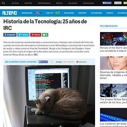 Historia de IRC
