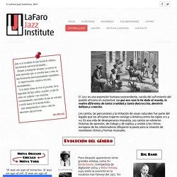 Historia y Jazz - LaFaro Jazz Institute