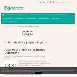 La historia de los juegos olímpicos