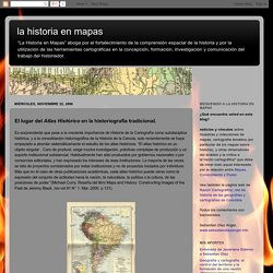 la historia en mapas: noviembre 2006