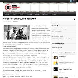 Curso Historia del Cine Mexicano