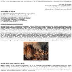 HISTORIA MILITAR DE LA GUERRA DE LA INDEPENDENCIA 1808-1814