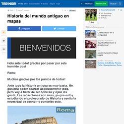 Historia del mundo antiguo en mapas - Taringa!