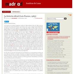 La historia oficial (Luis Puenzo, 1985)