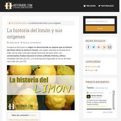 La historia del limón y sus orígenes - HistoriaDel.com