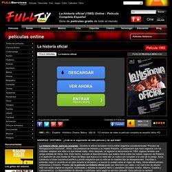 La historia oficial (1985) Online - Película Completa Español - FULLTV