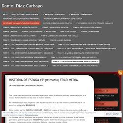 HISTORIA DE ESPAÑA (5º primaria) EDAD MEDIA