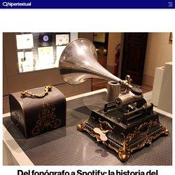 Un repaso a la historia del registro musical desde su origen hasta hoy