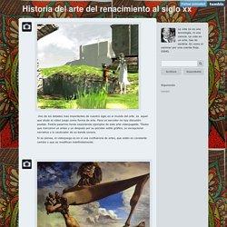 Historia del arte del Renacimiento al siglo XX