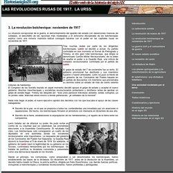 Historia del mundo en el siglo XX - La revolución rusa soviética. La URSS