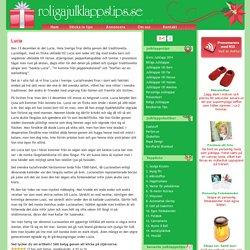 Lucia - Historia och Fakta - Roliga julklappstips