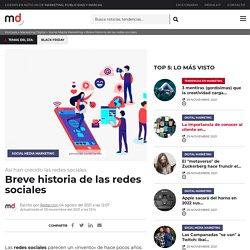 Breve historia de las redes sociales - Marketing Directo