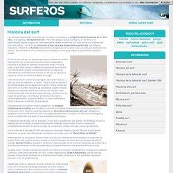 Historia del surf. Orígenes del deporte