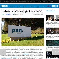 Historia de la Tecnología: Xerox PARC