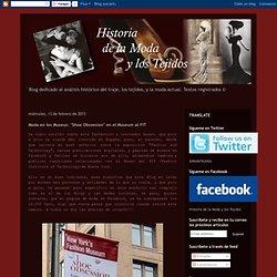 """Historia de la Moda y los Tejidos: Moda en los Museus: """"Shoe Obssesion"""" en el Museum at FIT"""