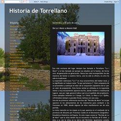 Historia de Torrellano: De Lo i More a Moore Hall