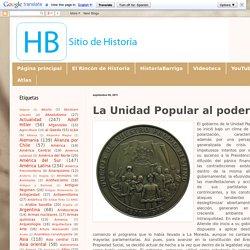Historiabarriga: La Unidad Popular al poder
