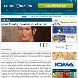 Juana Azurduy, amazona de la libertad