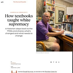 historian examines how textbooks taught white supremacy