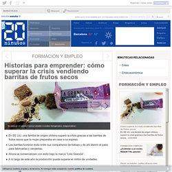 Historias para emprender: cómo superar la crisis vendiendo barritas de frutos secos