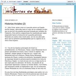 Historias de España: Historias triviales (2)