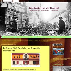 La Guerra Civil Española y su dimensión internacional