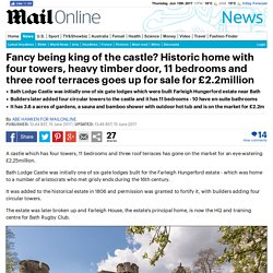 Historic castle with four towers on market for £2.2million