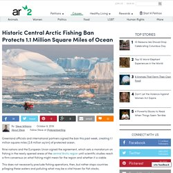 Historic Central Arctic Fishing Ban Protects 1.1 Million Square Miles Of Ocean